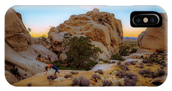 IPhone Case featuring the photograph High Desert Pose by T Brian Jones