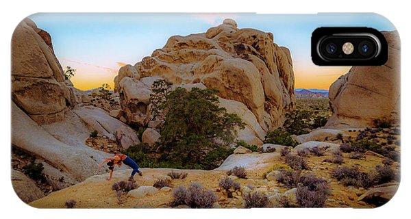 High Desert Pose IPhone Case