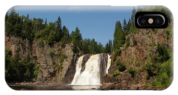 High Falls At Tettegouche State Park IPhone Case