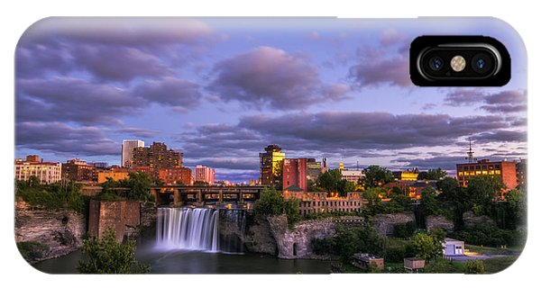 High Falls Dusk IPhone Case