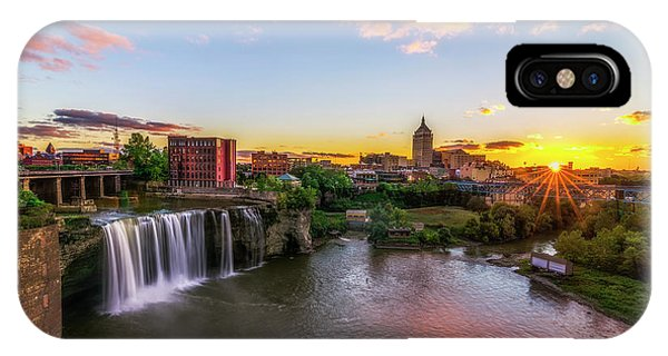 High Falls Rochester Ny IPhone Case