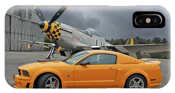 High Flyers - Mustang And P51 IPhone Case