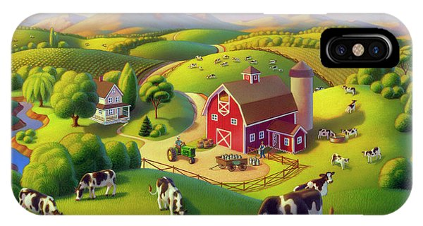 High Meadow Farm  IPhone Case
