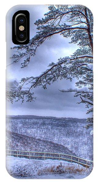 Crossville iPhone X Case - High Mountain Fence by Douglas Barnett