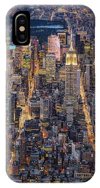 High On New York City IPhone Case