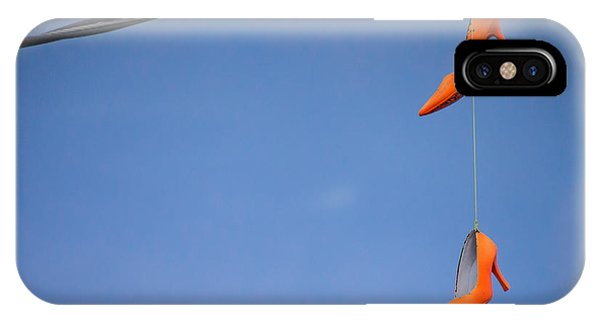 High On Orange IPhone Case
