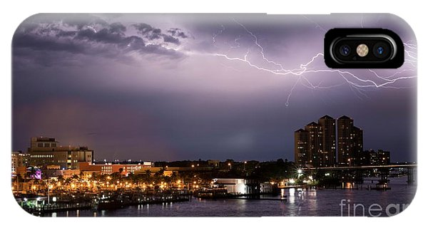 Condo iPhone Case - High Point Place Nights by Quinn Sedam