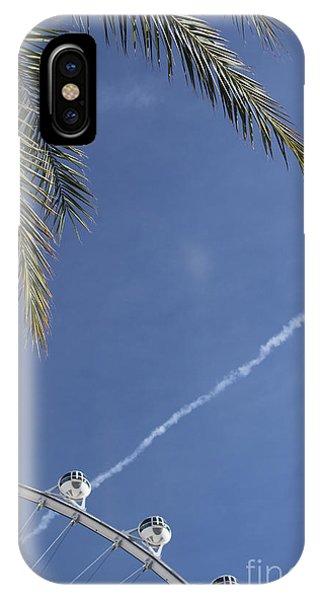 IPhone Case featuring the photograph High Roller Skies by Wilko Van de Kamp