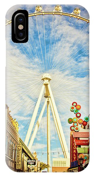 High Roller Wheel, Las Vegas IPhone Case