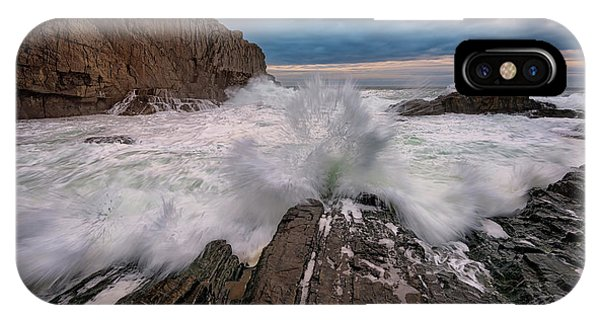 High Tide At Bald Head Cliff IPhone Case