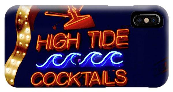 High Tide Cocktails IPhone Case