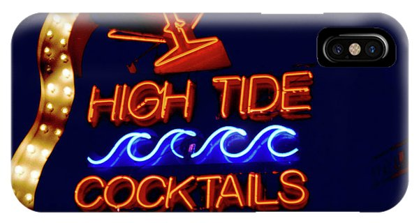 High Tide Cocktails IPhone Case