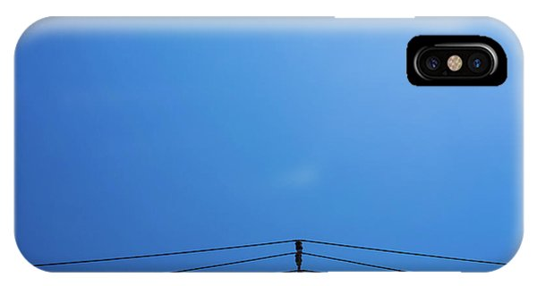 High Voltage Power, Electric Pose IPhone Case