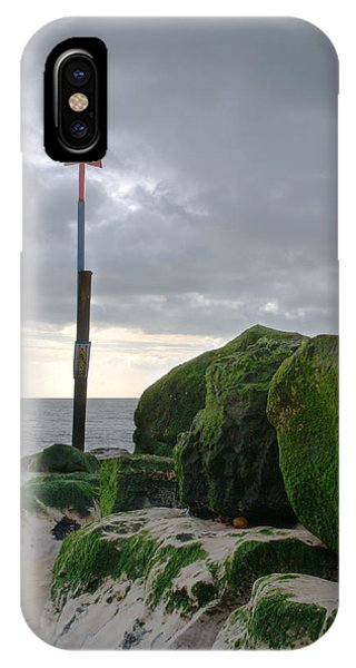 iPhone Case - Highcliffe Groyne by Chris Day