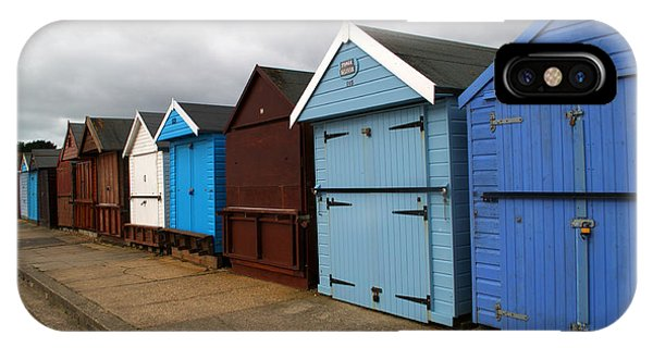iPhone Case - Highcliffe Huts 4 by Chris Day
