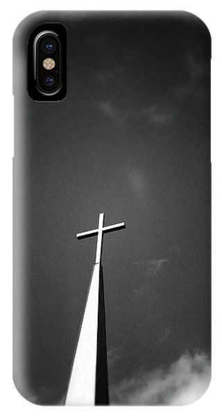 Higher To Heaven - Black And White Photography By Linda Woods IPhone Case
