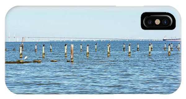 Highland Beach On The Chesapeake IPhone Case