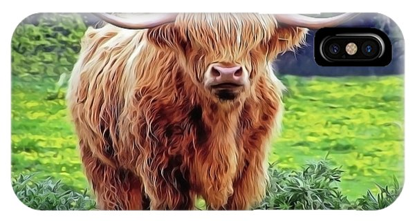 iPhone Case - Highland Cow by Harry Warrick