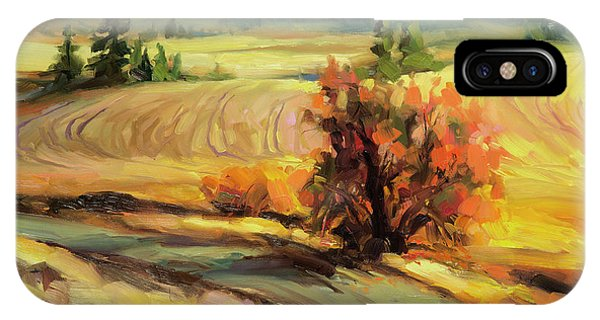 Bush iPhone Case - Highland Road by Steve Henderson