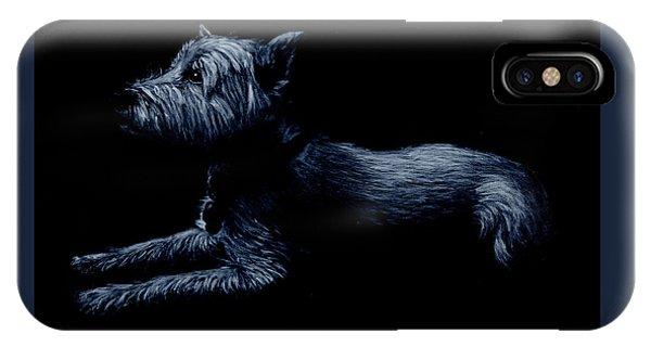 Highland Terrier IPhone Case