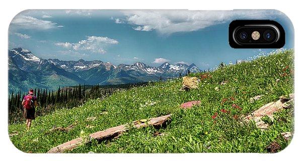 Highline Trail Adventure IPhone Case