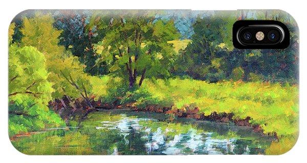 Hightower Creek Bend IPhone Case