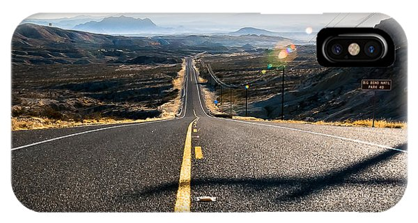 Highway 170 To Big Bend IPhone Case