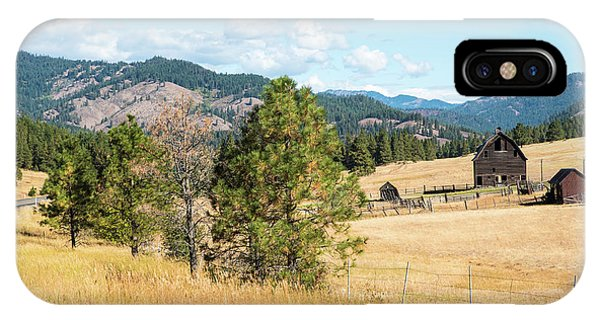 Highway 97 Ranch Memories IPhone Case