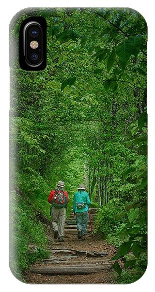Hiking - Appalachian Trail IPhone Case