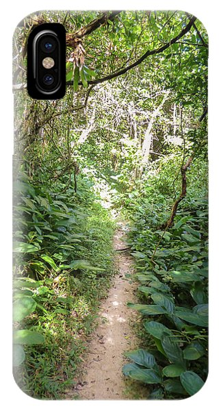 Hiking Path In The Atlantic Forest IPhone Case