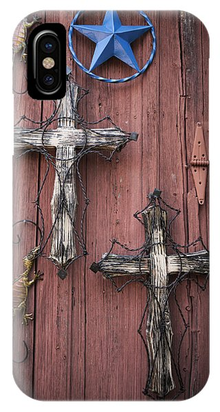 Hill Country Crosses IPhone Case