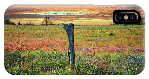 Hill Country Heaven IPhone Case