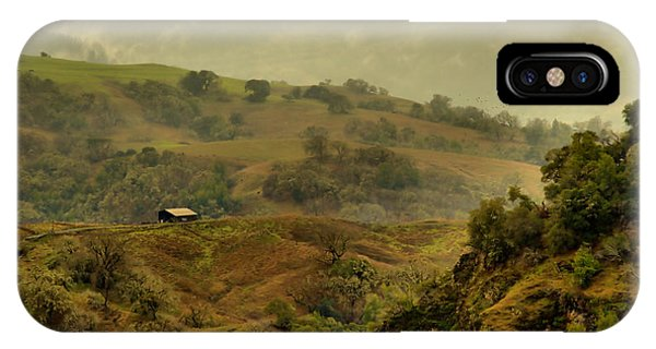 Hills Above Anderson Valley IPhone Case