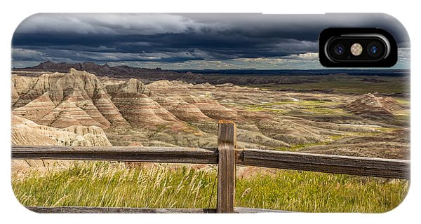 Hills Behind The Fence IPhone Case