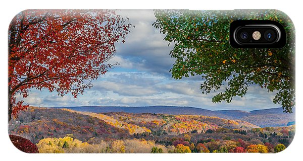 Hills Of Autumn IPhone Case