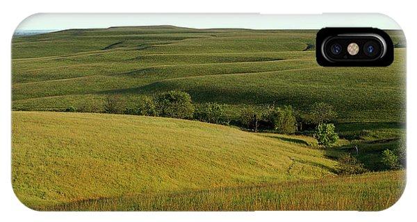 Hills Of Kansas IPhone Case