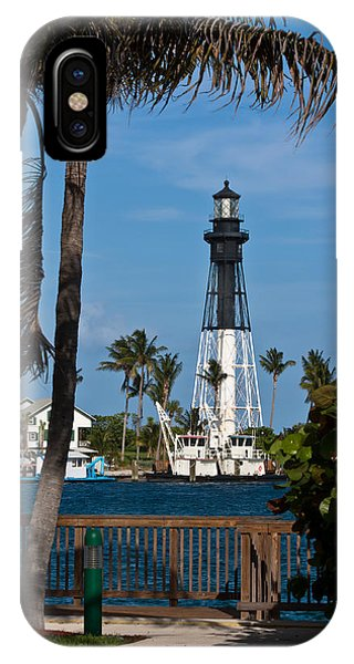Hillsboro Inlet Lighthouse And Park IPhone Case