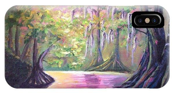 Withlacoochee River Nobleton Florida IPhone Case