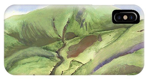 Hillside Panorama IPhone Case
