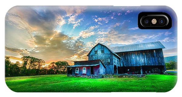 Amish Country iPhone Case - Hillside Sunset by Marvin Spates