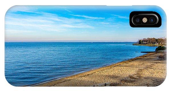 Hillsmere Beach On The Chesapeake IPhone Case