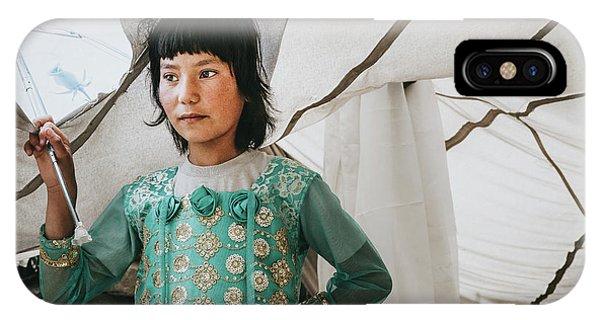 Himalayan Girl IPhone Case