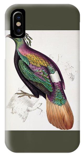 Himalayan Monal Pheasant IPhone Case