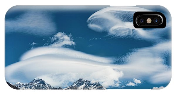 IPhone Case featuring the photograph Himalayan Sky by Dan McGeorge