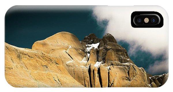 Kora iPhone Case -  Himalayas Mountain Kailas Kora Tibet Yantra.lv by Raimond Klavins