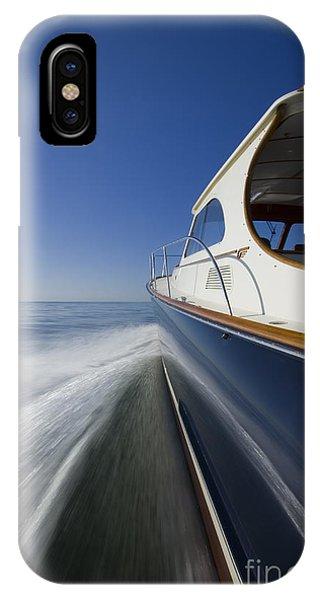 Powerboat iPhone Case - Hinckley Talaria 44 Motor Yacht by Dustin K Ryan