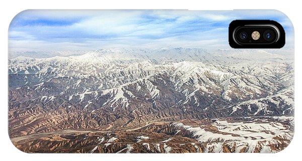 Hindu Kush Snowy Peaks IPhone Case