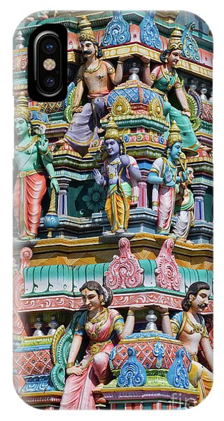 Hindu Temple Gopuram IPhone Case