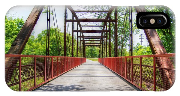 Hinkson Creek Bridge IPhone Case