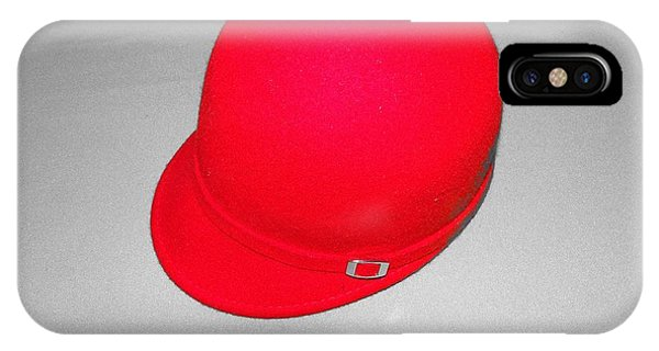 Hints Of Red - Hat IPhone Case